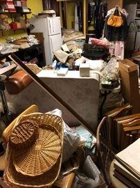 basement full of stuff