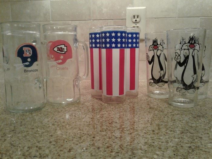 Beer and Americana Glassware