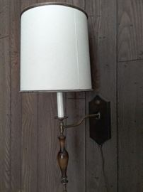 Pivoting Wall Sconce Lamp