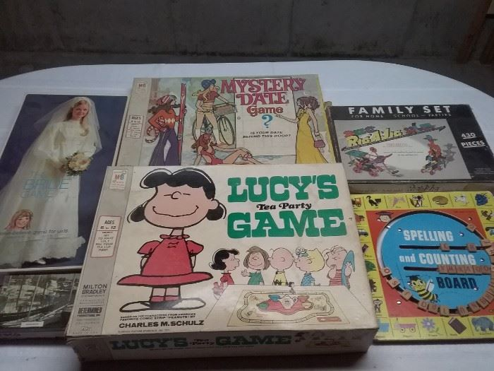 Vintage Board Games Two