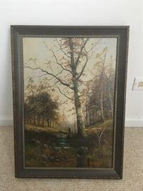 Art - Oil on Canvas G. Klatt 1884 (1)