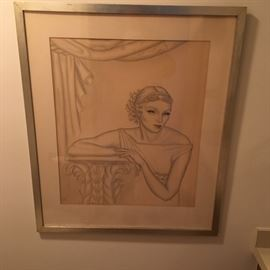 Art - Signed Print 'Janet' 1933