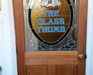 Stain Glass Door $200