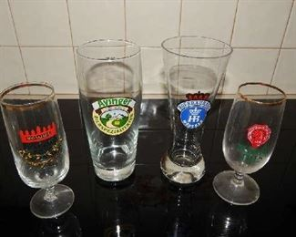 ASSORTED BEVERAGE GLASSWARE FROM ALL OVER THE WORLD