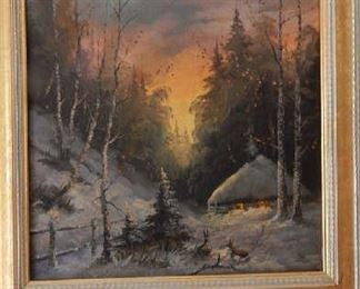 VERY DETAILED OIL PAINTING FROM A RUSSIAN ARTIST