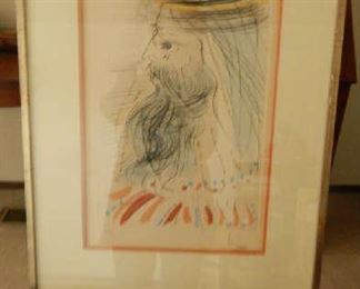 SOLOMAN, BY ARTIST SALVADOR DALI. SIGNED & NUMBERED WITH COA