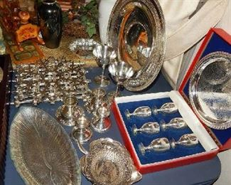 MORE SILVER AND SILVER PLATE PIECES