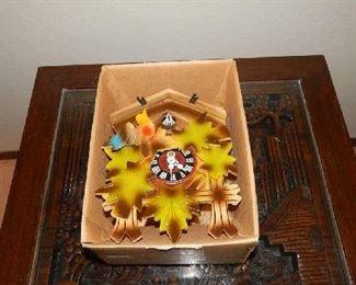SMALL VINTAGE COOKOO CLOCK