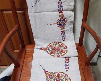 HAND MADE LINEN TABLECLOTH FROM RUSSIA