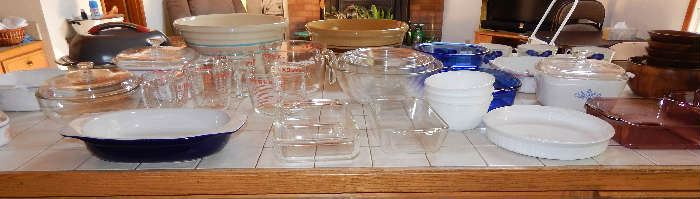 KITCHEN GLASS AND POTTERY INVENTORY