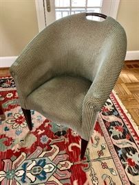 """Donghia """"Plato"""" upholstered chairs (4)"""