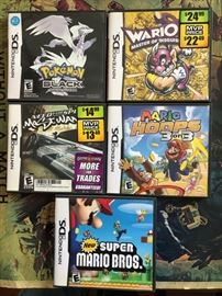DS games by Nintendo