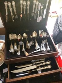 Old Masters sterling flatware. Every serving piece imaginable!