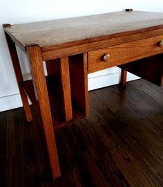 Vintage Mission Oak Desk
