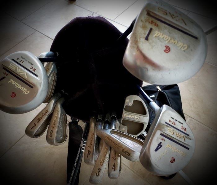 Set of Cleveland Golf Clubs