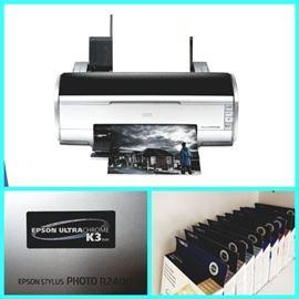 EPSON Stylus Photo R2400 printer and INK!