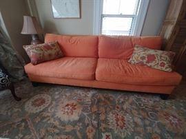 Great custom made sleep sofa from Pottery Barn cost $4000.00 Still like new will sacrafice for $350.00