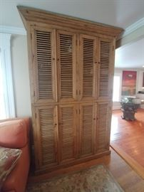 Fabulous antique luver door cupboard A TRULY AMAZING ANTIQUE PIECE ONLY $850.00