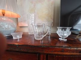 Sampling of Lalique and Waterford Crystal STARTING AT $ 20.00 AND UP