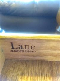 "Writing Desk by ""Lane"" Manufacturer."