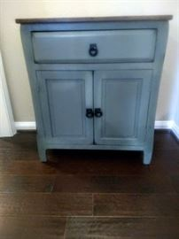 Lovely small painted chest.