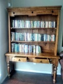 Rustic Pine Bookcase.