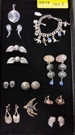 Vintage Costume Jewelry - Lots of Signed items