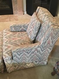 cloth living room armchair