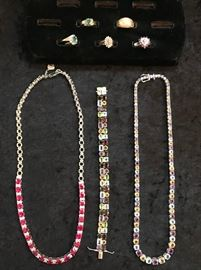 Jewelry, Sterling and Gold