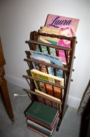 Magazine rack, sheet music
