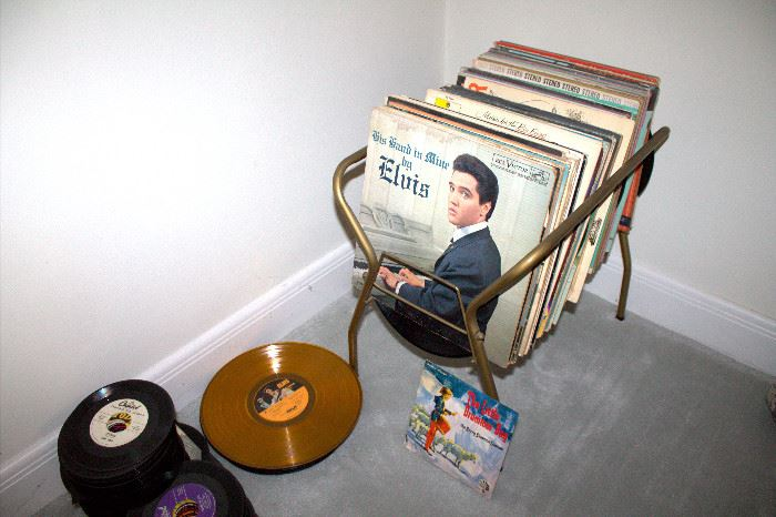 Lots of vintage records!