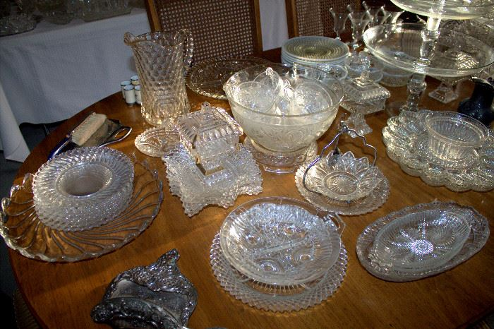 Glassware (some of these items may have sold)