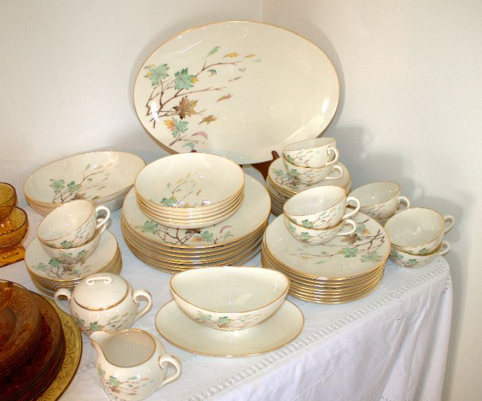 "Beautiful set of Lenox ""Westwind"" china - service for 8"