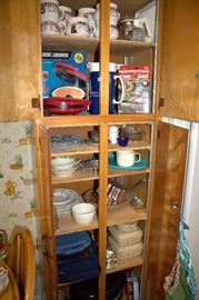Kitchenware (some of these items may have sold)