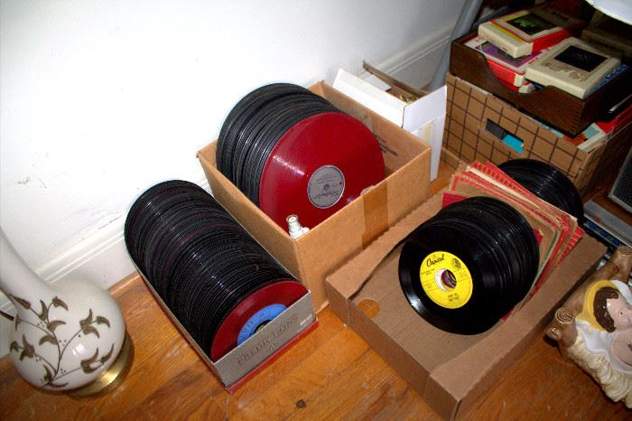 Vintage records (some of these items may have sold)