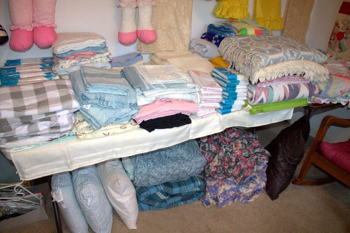 Linens (some of these items may have sold)