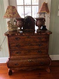 Very fine chest of drawers by Century  furniture Co.