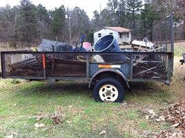 Homemade trailer - junk will be removed