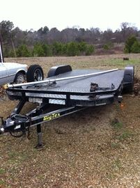 Big Tex car trailer