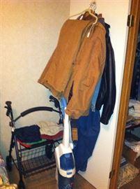 Walker, vacuum, large size clothes
