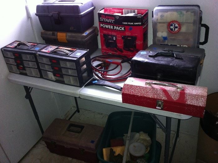 Tool boxes, Power pack