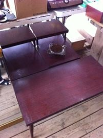 Mid century modern end tables and coffee table