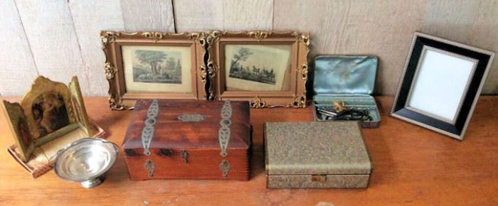 MVF005 Vintage Jewelry Boxes and Frames