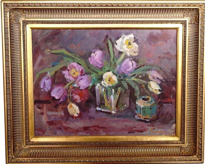 Purpler Tulips