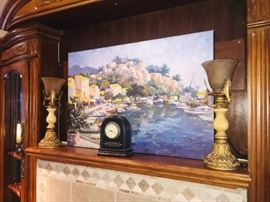Decorator art and accents with decorator lams