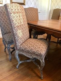 Minton-Spidell L'avant Dining Chairs - 8 side chairs and 2 arm chairs