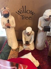 Willow tree wise men with box
