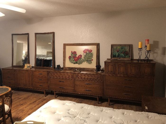 STILL HAVE TALL MID CENTURY ON RIGHT   other 2 dressers sold