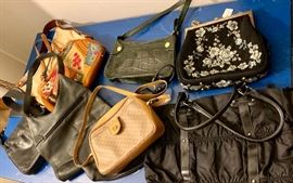 Here are the some of the purses it will be for sale. Gucci, bottega Vanetta, Vintage needlepoint Purse......many more