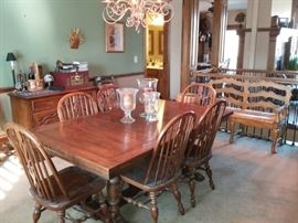 Dining Table & 6n